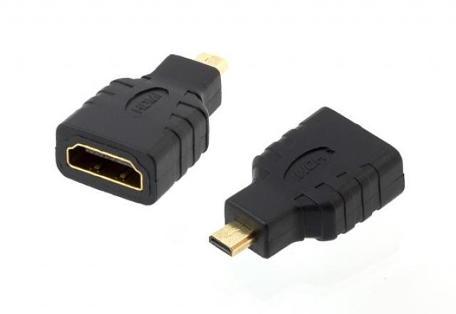 LED21 ADAPTER - REDUKCE HDMI - MICRO HDMI GOLD